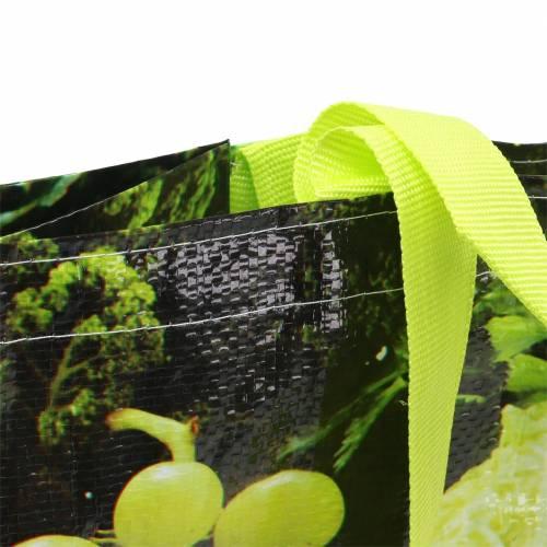 Boodschappentas met handvatten Vitale kunststof 38 × 20 × 39cm