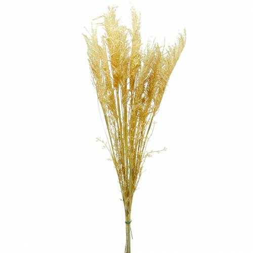 Pampasgras geel Kunstmatig siergras Droge flora 3st