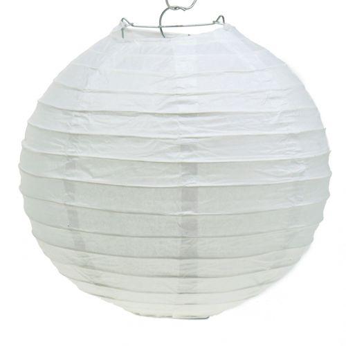 Papieren lantaarn wit Ø30cm