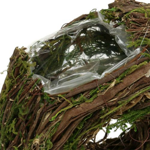 Plantenkrans naturel 28cm x 30cm