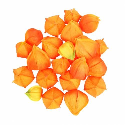 Physalis Oranje Assortiment 22st kunstmatige kelken