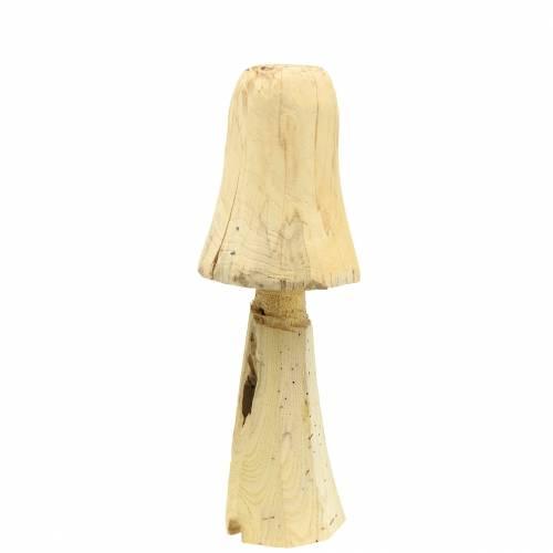 Paddenstoel grenen hout Ø18cm H35cm