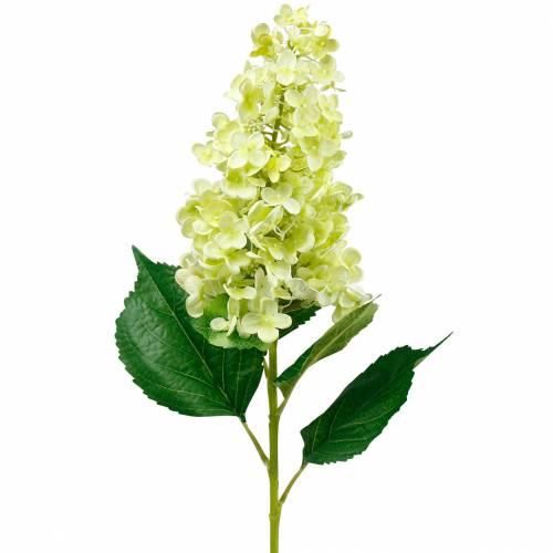 Kunstmatige pluimhortensia, hortensia groen, hoge kwaliteit zijden bloem 98cm
