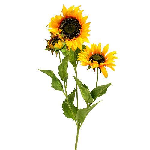 Zonnebloem geel 85cm