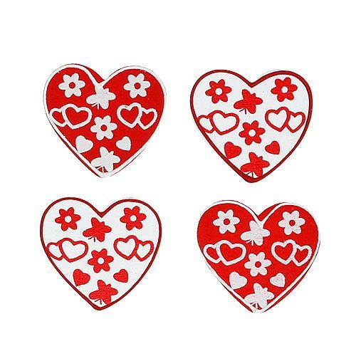 Scatter-harten sorteren. 3cm 24 stuks