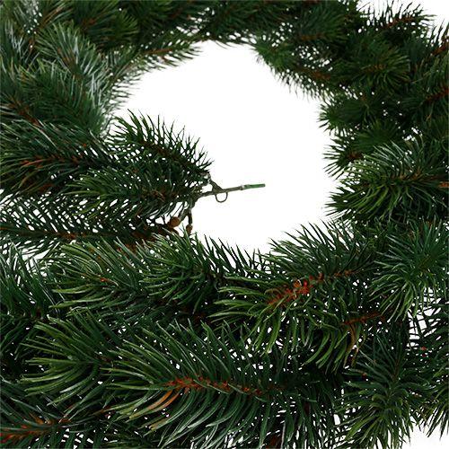 Dennenkrans rond groen 190cm