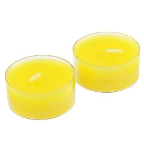 Theelichtjes geel 18st