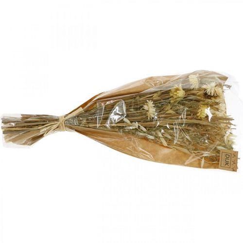 Droogbloemen boeket naturel 45cm