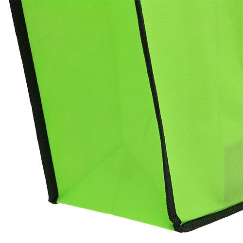 Fleece tas groen 38cm x 32cm 1p