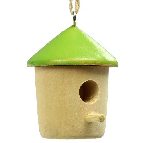 Decoratief hangend vogelhuisje 5cm 8st