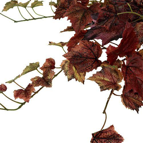 Wijnstokbladeren hanger groen, Bordeaux 67cm