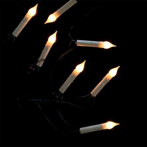 Windvlaag lichtketting voor binnen 16er 6m warm wit