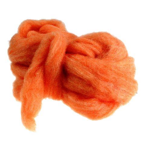 Wollen klinknagel 10m oranje