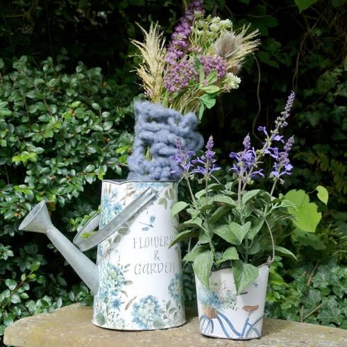 Kunstmatig lavendelboeket, decoratief lavendelviolet, zijden bloemen