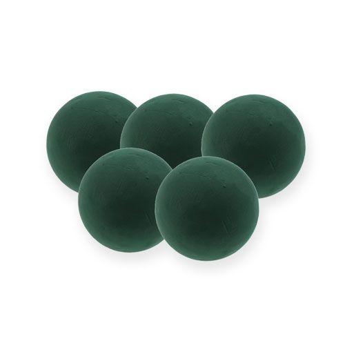 Steekschuim bal mini donkergroen Ø9cm 10st
