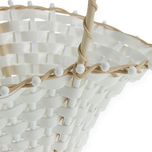Rieten manden voor bruiloft 24cm x 17cm