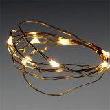 LED lichtketting 10 stuks voor batterij warm wit