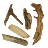 Decoratief hout en bruine wortel 1kg